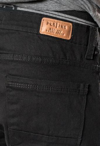 jean boyfriens sin genero, color negro , elastizado