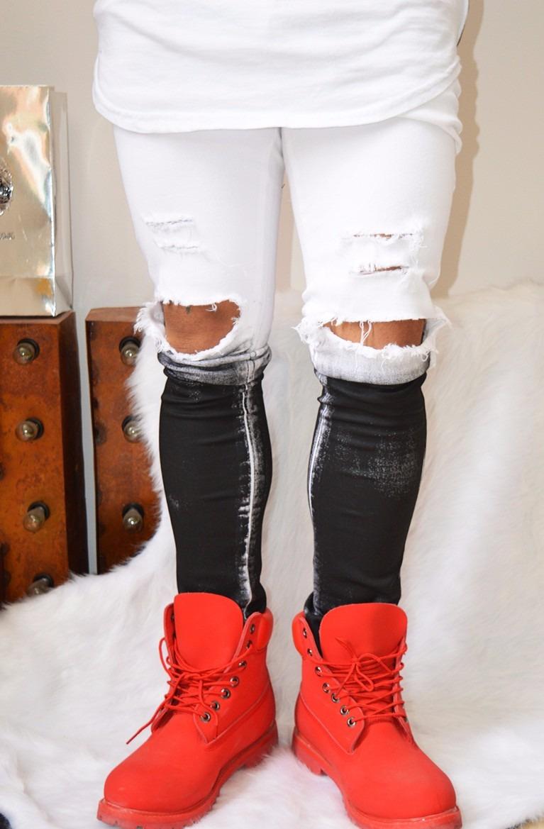 d8842cc941 jean california blanco streetwear swag european elastizado. Cargando zoom.