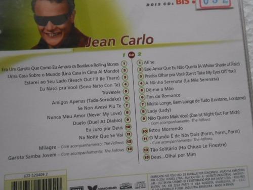 jean carlo série bis jovem guarda dois cd's original