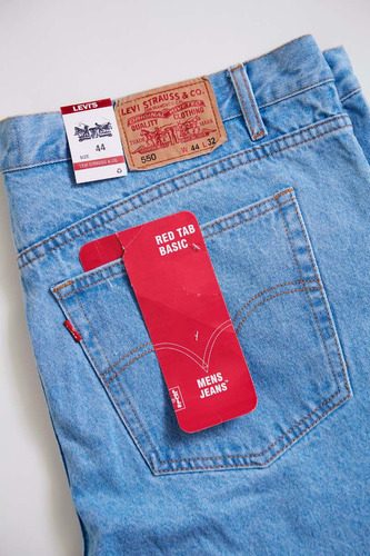 jean celeste clásico talla americana extra grande 46 48 50