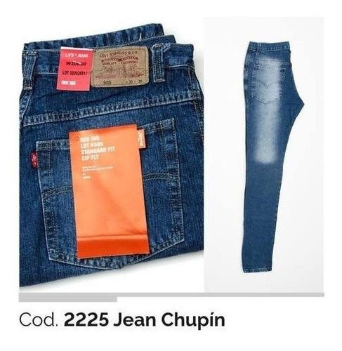 jean chupin elastizado levi`s de hombre