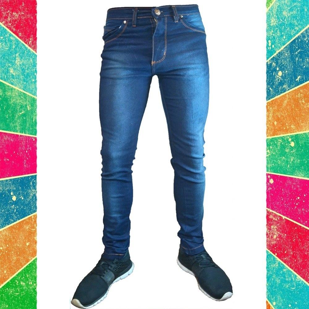 3ef606bf5c56a jean chupin hombre elastizado pantalon. Cargando zoom.