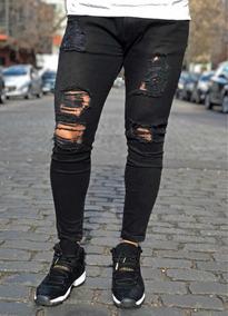 estilo moderno nuevo estilo de 2019 precio de descuento Jean Color Mostaza Hombre Roto - Pantalones, Jeans y ...