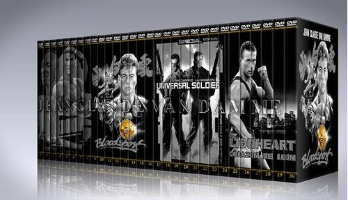 jean-claude van damme coleccion peliculas dvd