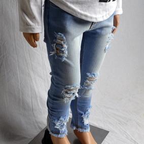 458612d700 Jean Negro Roto - Pantalones para Niños en Mercado Libre Uruguay