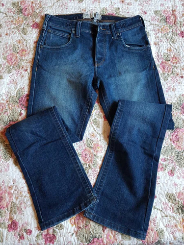 jean dc de critobal colon.t :34 slim fit.blue-indigo