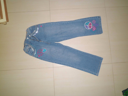 jean de niña azul talla 6
