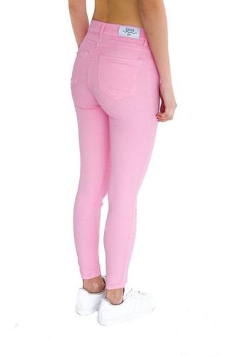 jean elastizado chicle alocasia