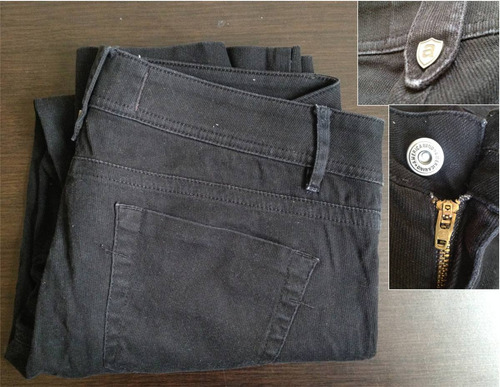 jean estilo pantalón capri americanino original talla 28