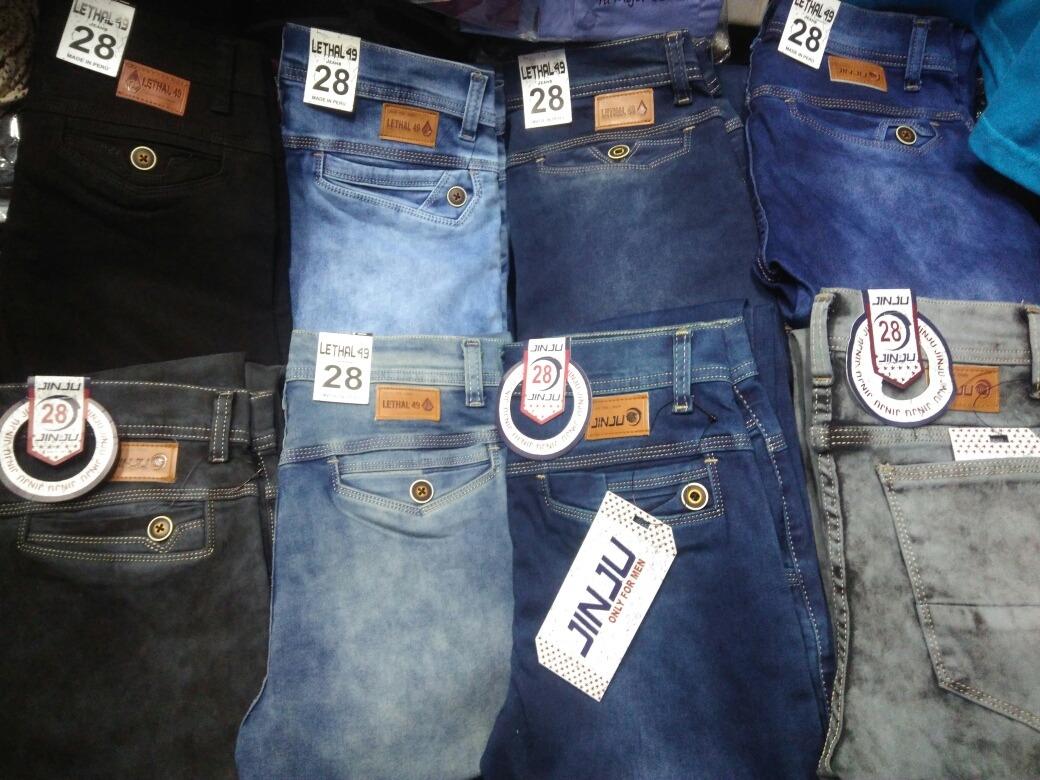 494e77ec9f78d Cargando zoom... pantalon jean pitillo strech clasico moda urbana para  hombre