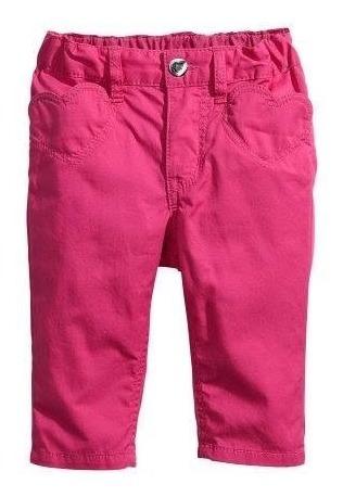 jean importado pantalón gabardina h&m bebe nena 9-12m