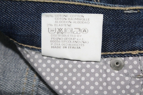 jean italiano exclusivo #5 (made in italy - importado)