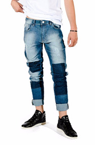 venta reino unido 60% barato fecha de lanzamiento: Pantalon De Jean Con Parches - Pantalones, Jeans y Joggings ...