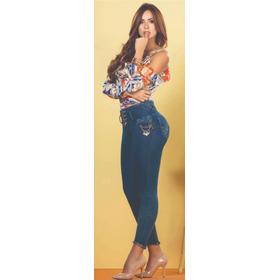 Jean Leandru's Ref 858 Para Damas Azul Medio + Envío Gratis