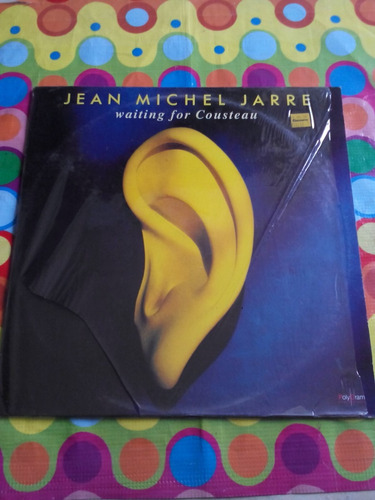 jean michael jarre lp waiting for cousteau 1990