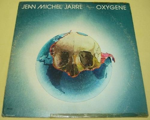 jean micheal jarre -oxigen- disco lp, acetato, vinyl.