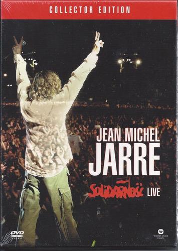 jean michel jarre solidarnosc live dvd+cd importado u.k.
