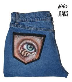 Pantalones tumblr pintados