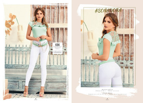 f8e4d01c28 Pantalones Levanta Cola Marca Baxter - Jeans para Mujer al mejor precio en  Mercado Libre Colombia