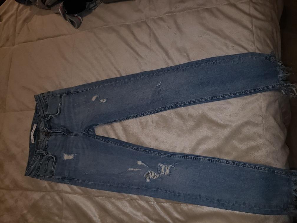 bc0afdbe6 Jean Mujer Skinny Zara Talle 24 Impecable Estado - $ 920,00