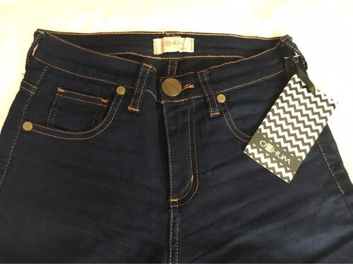 jean nuevo marca oshum - bolsa original - sin uso! talle 25