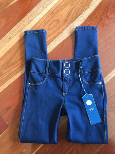 jean oscuro studio f color azul oscuro bota tubo