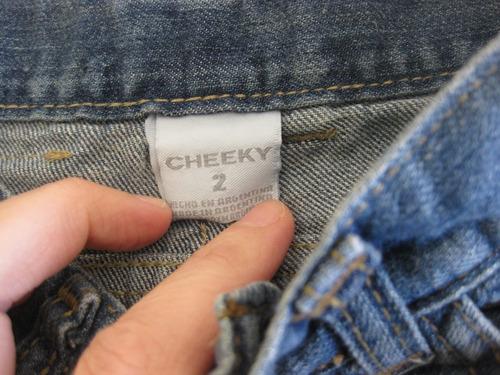 jean pantalon para nene nena unisex talle 2 cheeky