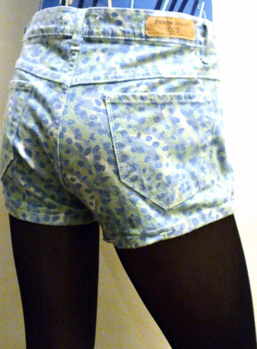 jean pantalon short talla 38 5 bolsillos clasico
