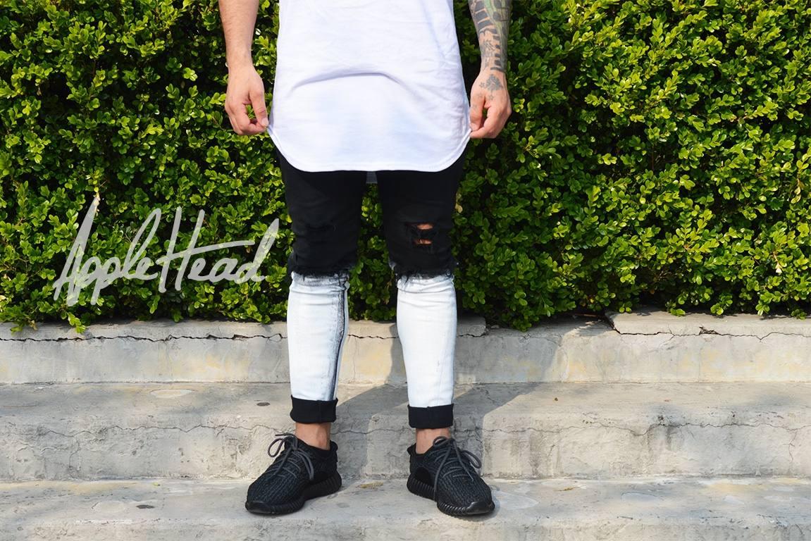 f686deca48 jean paradise swag chupin elastizado roto streetwear. Cargando zoom.