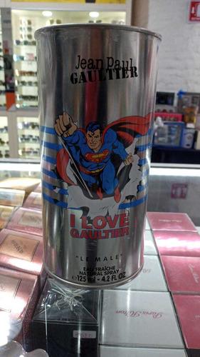 jean paul gaultier le male superman 125 ml nuevo de línea