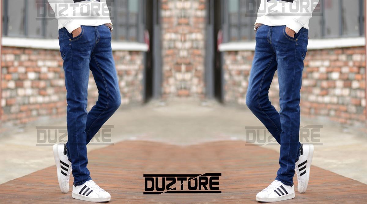 jean pitillo strech clasico moda urbana para hombre 2018. Cargando zoom. 79757fc3430