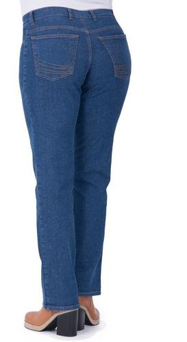 jean portofem confort spandex clásico - talles grandes