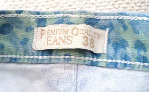jean short talla 38 5 bolsillos clasico