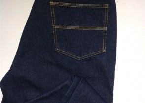 jean triple costura para caballero 14 oz resistente