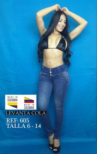 jeans 100% colombianos - modeladores -  mayoristas