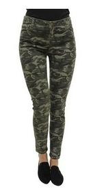 Pantalón 30269 Camuflaje Jeans Verde Skinny 3 Mujer QrxWBCoeEd
