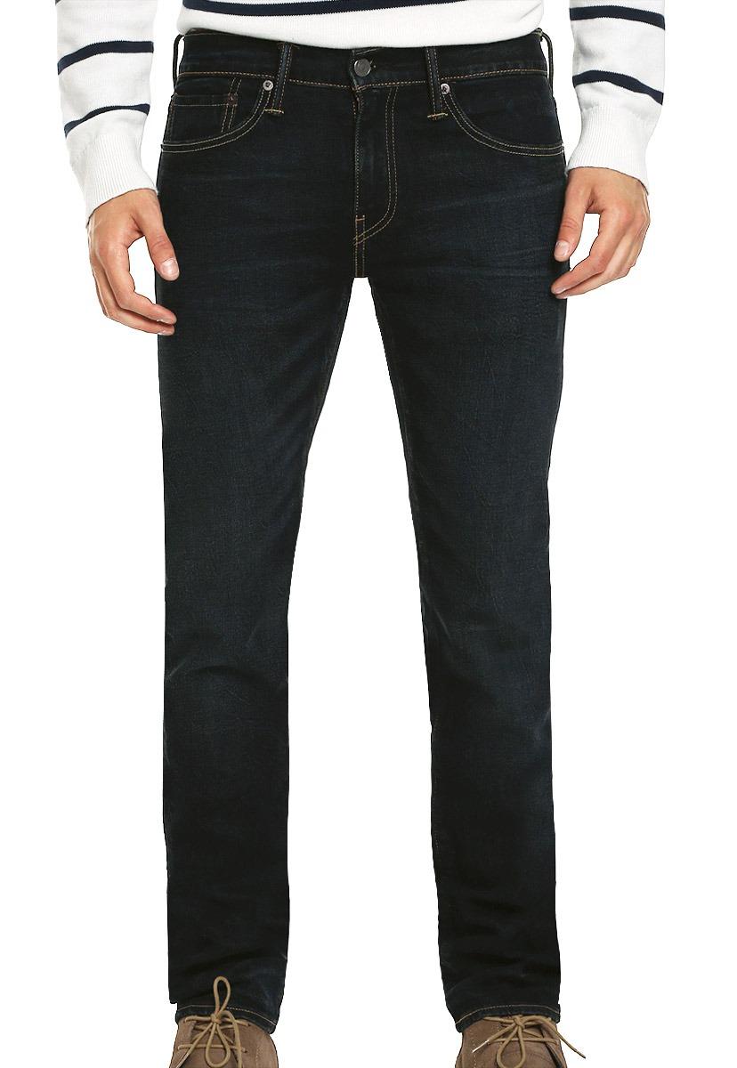4041cc792fc55 jeans 511 slim fit azul marino - levis - 855057. Cargando zoom.