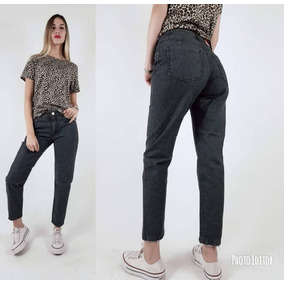 eb824fa54c23a Jeans Mom Baratos - Ropa y Accesorios Negro en Mercado Libre Argentina