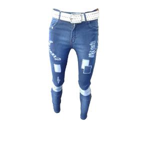 d7e72ae3aeaae Jeans Con Parches Hombre - Jeans Chupin de Hombre en Mercado Libre ...