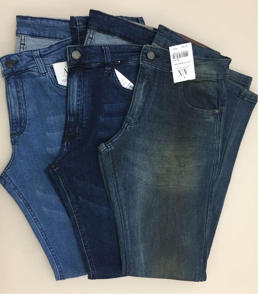 Carregando zoom... calças jeans de eslin da empório armani de milão da  itália 3156c70c00856