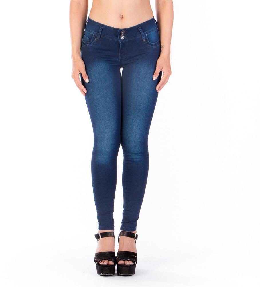 1e3149306d7 Jeans Azul Deslavado Pretina Ancha