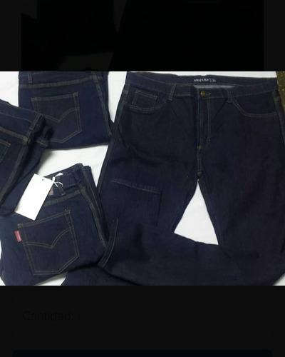 jeans azul para dama talla plus 36