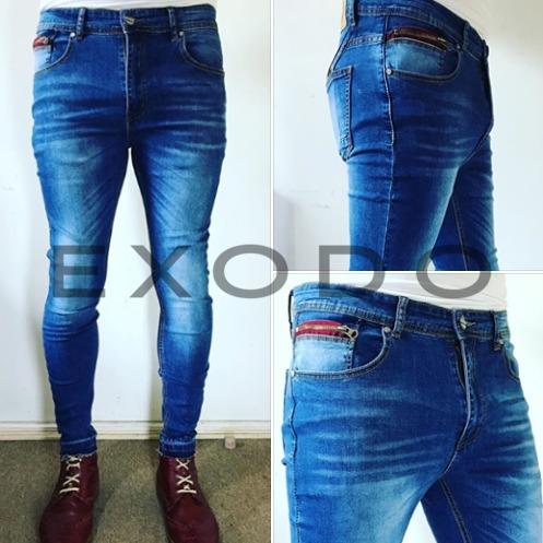 cbaa4b69abab3 Jeans Azul Super Skinny