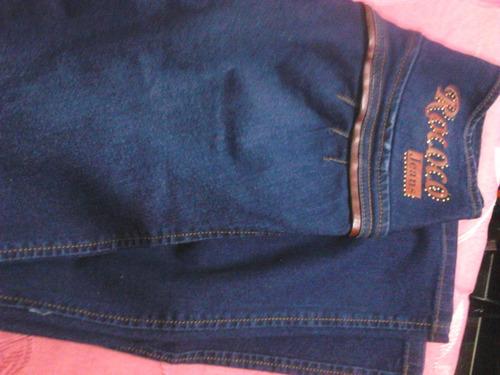 jeans azul talla  12 licrado bota angosta