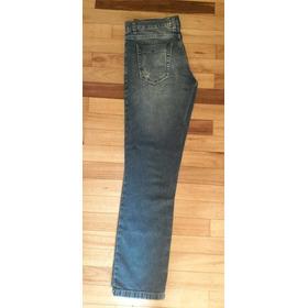 Jeans Azules De Niño, Marca Stone , Talle 14 , Mod Relaxed .