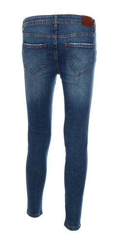 jeans básicos de mujer c&a corte super skinny stretch