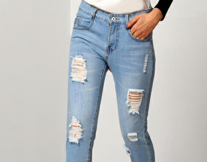 db600225b5f Jeans Boyfriends Para Dama Bota Recta -   59.900 en Mercado Libre