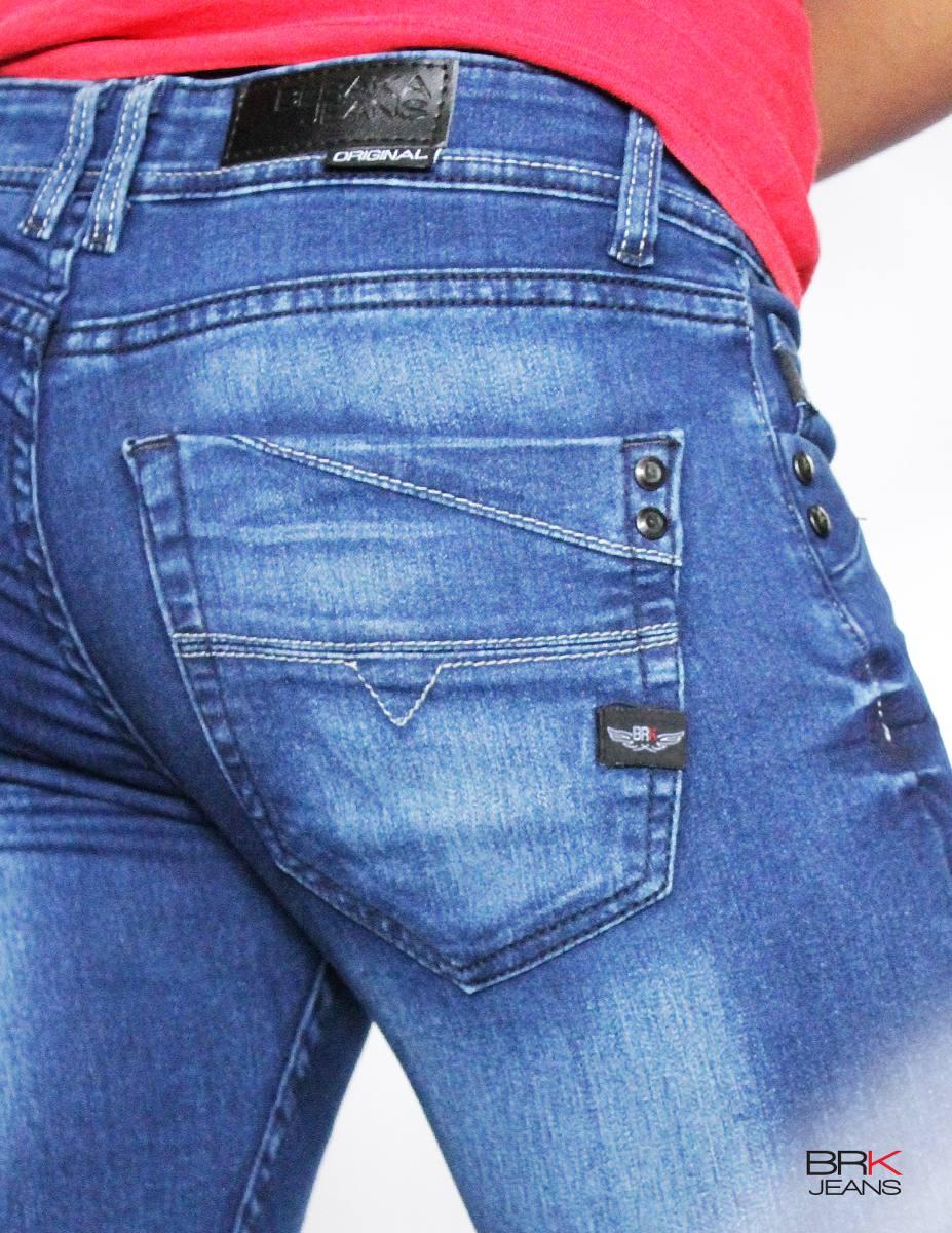 562e0e08338f4 Jeans Caballero Mezclilla Corte Skinny Slim -   359.00 en Mercado Libre