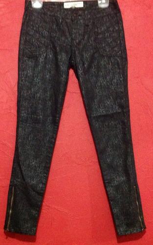 jeans casual c & a negro animal print skinny fiesta c173