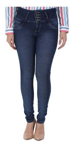 jeans casual lee mujer pretina alta booty up r5z